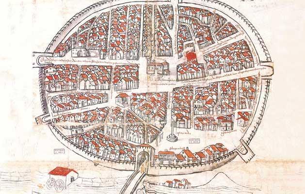 Plano de Bodegas en 1503