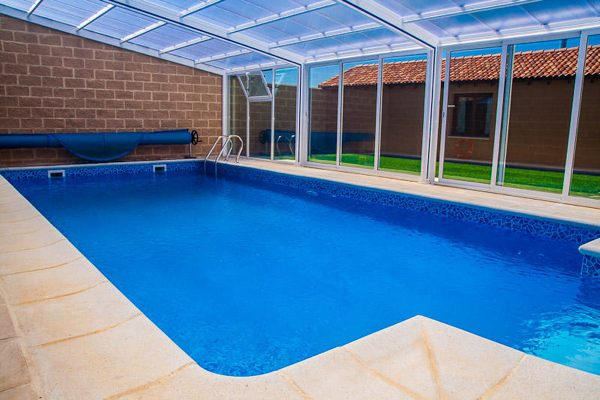 Casa rural el crisal padilla de abajo burgos - Casa rural con piscina cubierta ...
