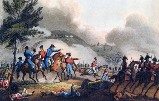 Resultado de imagen para Fotos de las tropas españolas, portuguesas y británicas comandadas por Wellington