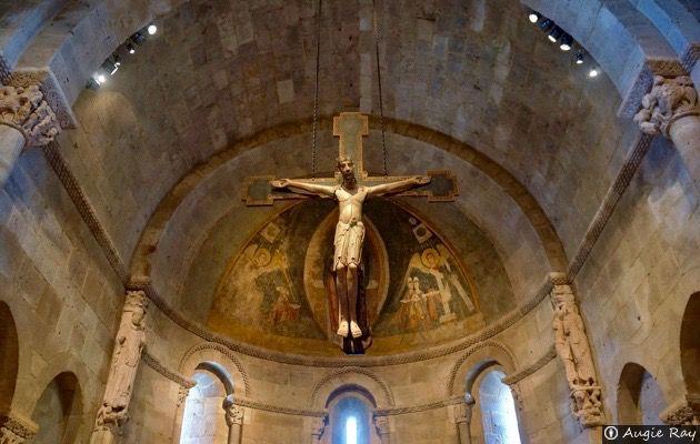 Resultado de imagen de Cozuelos de Fuentidueña iglesia interior