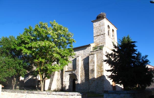 Resultado de imagen de Aldeasoña. Iglesia de la Magdalena