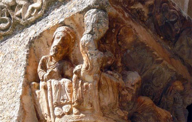 Resultado de imagen de capitel  san miguel de ayllon