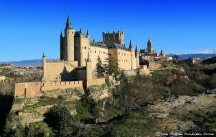 Panorámicas de Segovia - Alcázar de Segovia