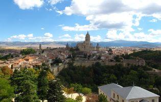 Vistas de Segovia desde el Alcázar de Segovia