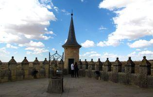 Patio del Pozo 'Terraza de los Reyes' - Alcázar de Segovia