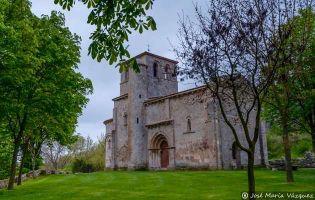 Ermita románica - Monasterio de Rodilla