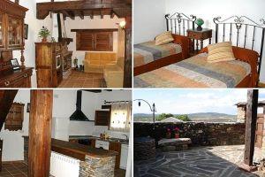 Casa rural en los Pueblos Negros - Segovia