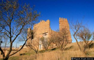 Castillo - Muro de Ágreda