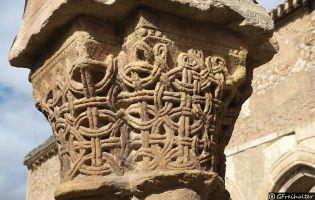 Capitel Monasterio de San Juan de Duero - Soria