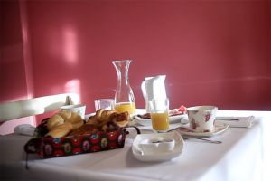 Desayuno - Casa rural La Gurriata