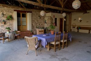 Patio exterior - Casa rural La Gurriata