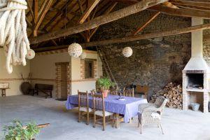 Patio exterior - Casa rural La Gurriata