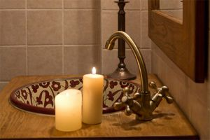 Detalle baño - Casa rural La Gurriata