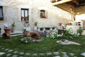 Jardín - Casa Rural La Peñuela