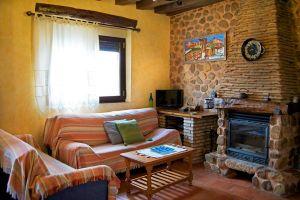 Salón - Casa rural El Labriego B