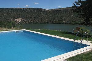 Casa rural con piscina en Segovia - Las Vencías