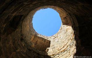 Interior del cubo - Castillo de Berlanga de Duero
