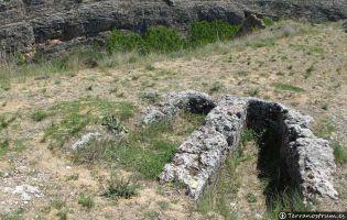 Tumbas medievales junto al Castillo de Berlanga de Duero