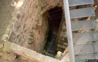 Galería subterránea Castillo de Burgos