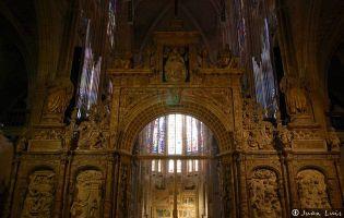Entrada al Coro - Catedral de León