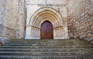 Portada Norte - Antigua Colegiata de Santa María