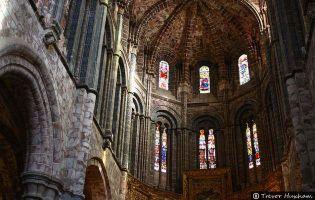 Detalle interior de ábside - Catedral de Ávila