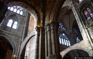 Interior Catedral de Ávila