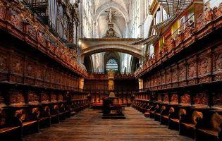 Sillería del coro - Catedral de Ávila