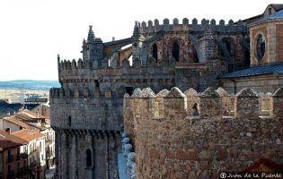 Detalle superior del Cimorro - Catedral de Ávila