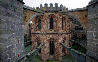 Arbotantes exteriores Catedral de Ávila