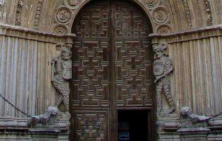 Detalla Puerta Occidental - Catedral de Ávila
