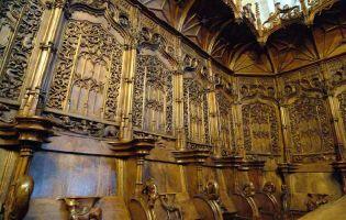 Detalle de la Sillería del Coro - Catedral de Ciudad Rodrigo