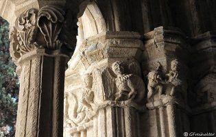 Capiteles Claustro Catedral de Ciudad Rodrigo