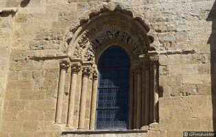 Ventana románica - Catedral de Ciudad Rodrigo