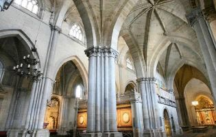 Interior Catedral de Ciudad Rodrigo