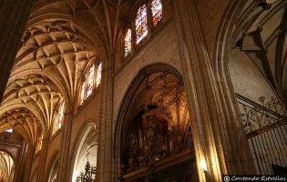Nave del Evangelio - Catedral de Segovia