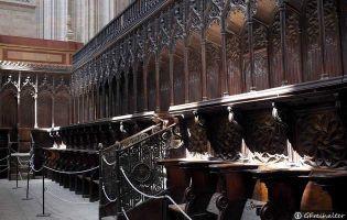 Silleria del Coro - Catedral de Segovia