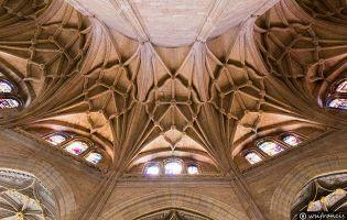 Bóveda de la Girola - Catedral de Segovia