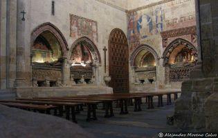 Transepto de la Epístola - Catedral vieja de Salamanca