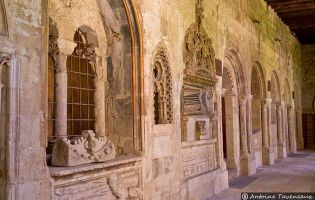Claustro - Catedral vieja de Salamanca