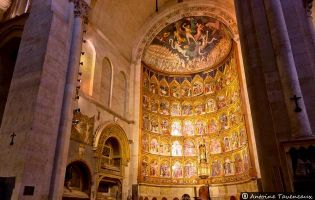 Retablo - Catedral vieja de Salamanca