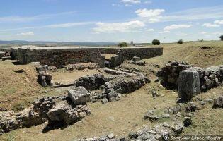 Termas - Yacimiento romano de Clunia