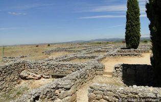 Yacimiento romano de Clunia