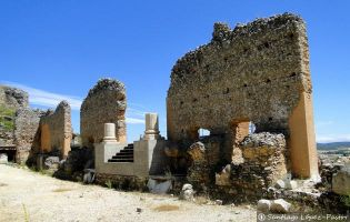 Teatro - Yacimiento romano de Clunia