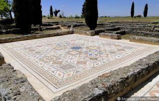 Mosaico - Yacimiento romano de Clunia