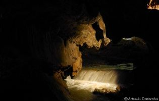 Aguas subterráneas - Cueva de Valporquero