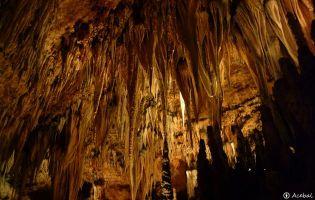 Estalactitas - Cueva de Valporquero