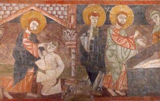 Murales ermita de San Baudelio