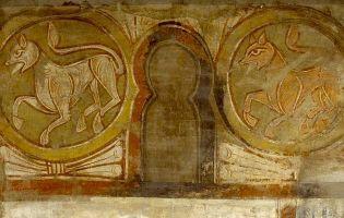 Frescos ermita de San Baudelio