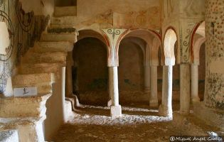 Arcos de herradura - Ermita de San Baudelio